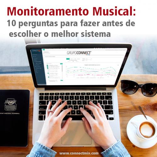Monitoramento Musical Connectmix