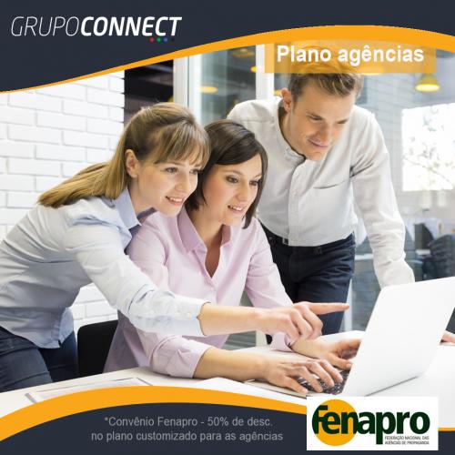 Parceria Connectmix com Fenapro para plano agência