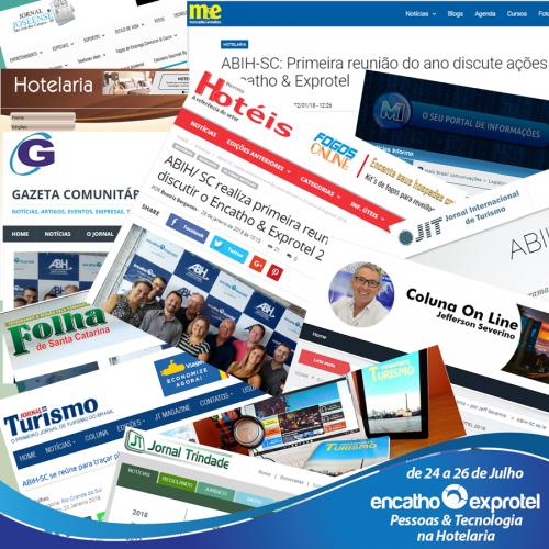 Encatho & Exprotel é destaque na imprensa nacional